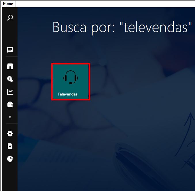 Efetuando uma venda por Televendas 2